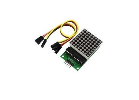 Matriz LED 8X8 Catodo comun IC MAX7219 ROJO