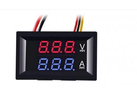 Volti Amperimetro Digital 0 a 100V / 10A