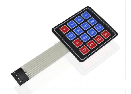 Teclado Matricial 4x4 Membrana Arduino Pic Raspberry