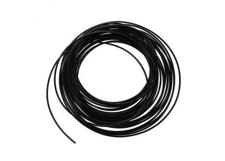 Filamento ABS 1.75mm Color Negro  x Metro