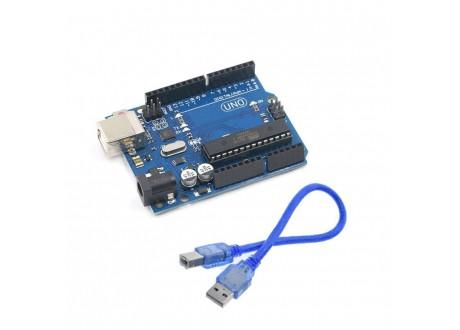 Arduino Uno REV3 COMPATIBLE + Cable USB