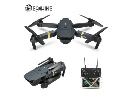 Drone Eachine E58 con una bateria Camara 2 Mpx 720p  Alcance 100 m  7 minutos autonomia