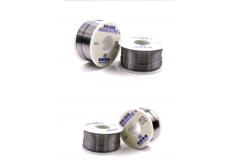Rollo de Estaño ZD-168 Sn: 60/40  Diam:  0.8 mm  100gr