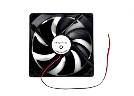 Ventilador 12 V  80x80x25 mm