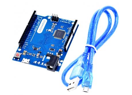 Arduino Leonardo R3 Atmega32u4 Compatible + Cable USB