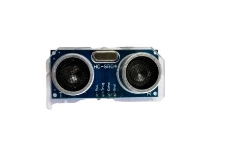 Base en acrilico para sensor ultrasonido HC-SR04 Sin Acople para Servo