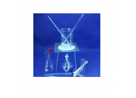 Kit Experimental Quimica Beaker + Tripode + Erlenmeyer Etc..